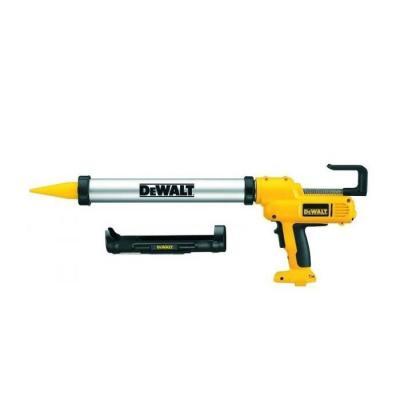 Пистолет для герметиков DeWALT з 600мл. контейнером и 310 мл. картриджем 12В. DC542K