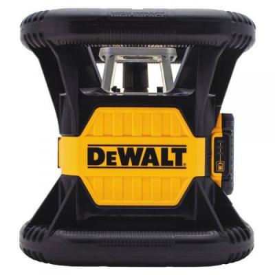 Лазер ротационный аккумуляторный DeWALT, красный, класс лазера 2R, DCE079D1R