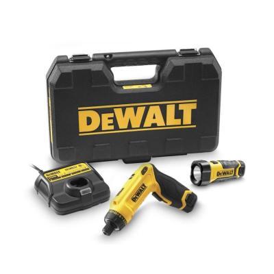 Шуруповерт гироскопический DeWALT, 7.2 В, Li-lon, DCF680G2