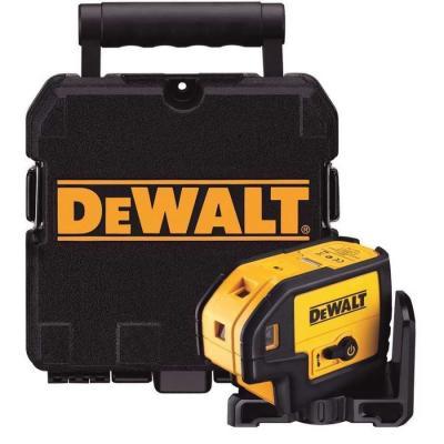 Лазерный уровень DeWALT класс лазера 2 <1мВт направление лучей вверх / вниз / влево / вправо точность +/- 0 DW085K