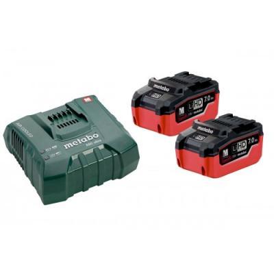 Базовый набор аккумуляторный2x LiHD 7,0Ah + 1x ASC Ultra